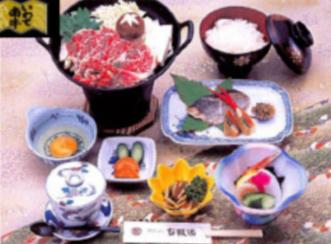 一関のブランド牛 いわて南牛<br>すき焼き鍋セット(2)